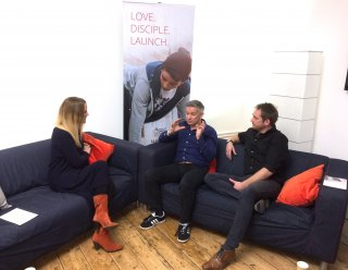 Matt Summerfield and Richard Langmead interviewed by Rachel Gardner about Matt's decision to step down as President of Urban Saints