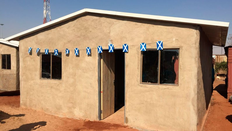 House built by a ReBuild South Africa team