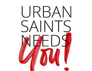 Urban Saints Needs You - every £10 you give helps a young person be introduced to the Lord Jesus and find a sense of belonging in a weekly group