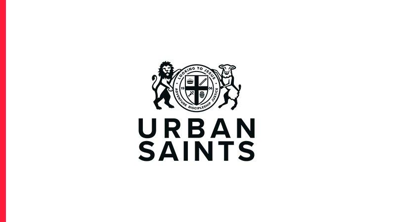 The Urban Saints logo on white background
